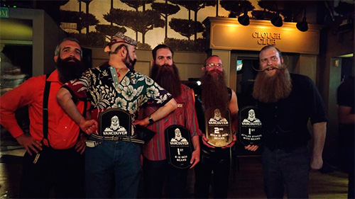 3rd Annual Facial Hair Competition