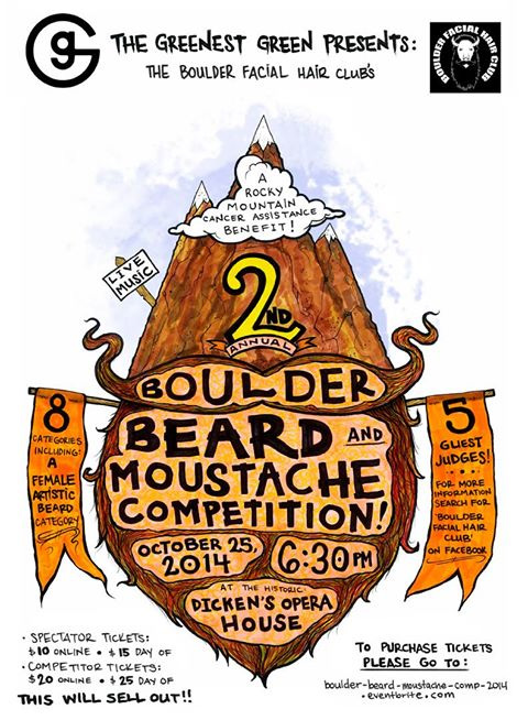 Boulder Beard and Moustache Competition