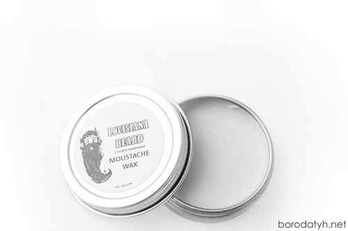Воск для усов Louisiana Beard Moustache Wax