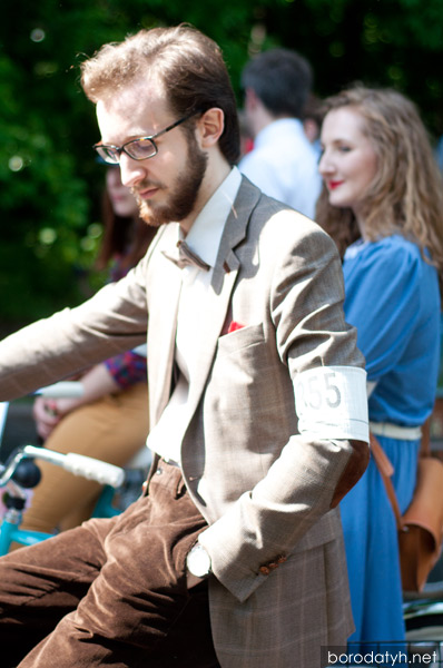 Tweed Ride Moscow 2013