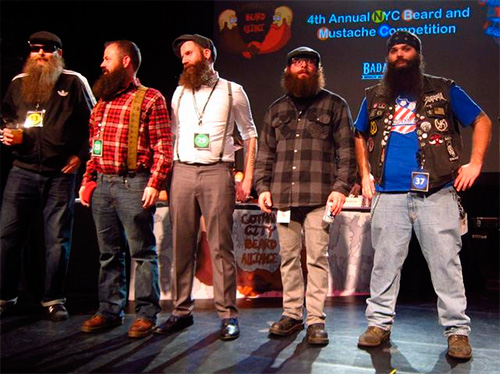 NYC Beard and Mustache Competition