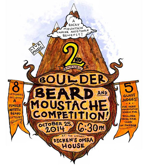 2nd Annual Boulder Beard and Moustache Competition