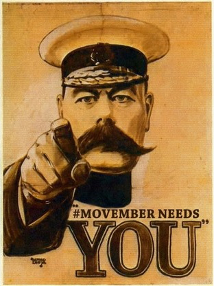 Movember needs you!