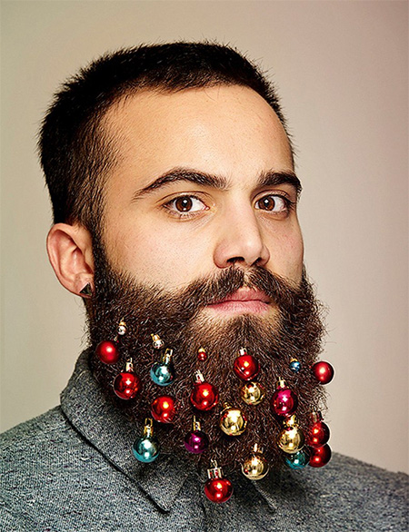 Beard Baubles – елочные украшения для бороды