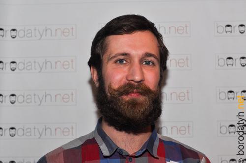 Михаил Хомутский, 1-е место в категории Естественные усы