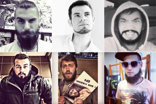 Бородачи в Instagram