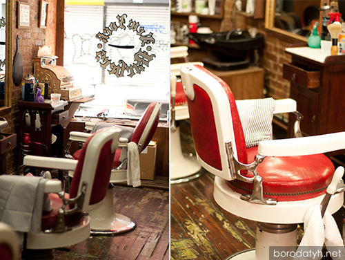 Theo-A-Kochs barber chair